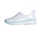 Infinity Footwear Infinity BREEZE in White and Aruba Blue Highlight (BREEZE-WABW)