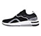 Infinity Footwear Infinity Footwear Shoes DART in Black, Reflective, White (DART-BKRW)