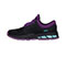 Infinity Footwear Infinity Footwear Shoes FLY in Black with Purple and Aruba (FLY-BKNE)