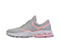 Infinity Footwear FLY in LIght Grey with Power Pink (FLY-LGPP)