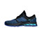 Infinity Footwear Infinity Footwear Shoes MFLY in Multi Blue with Black (FLY-MBBK)