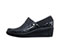 Infinity Footwear Infinity Footwear Shoes GLIDE in Black Sparkle with Black (GLIDE-BKSE)