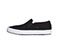 Infinity Footwear Infinity Footwear Shoes MRUSH in Black Canvas with White (MRUSH-TBLW)