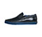 Infinity Footwear Infinity Footwear Shoes RUSH in Black, Victoria Blue (RUSH-BLVB)