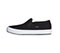 Infinity Footwear RUSH in Black Canvas with White (RUSH-TBLW)