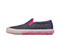 Infinity Footwear RUSH in Heather Navy/ Pink -Textile (RUSH-THPW)