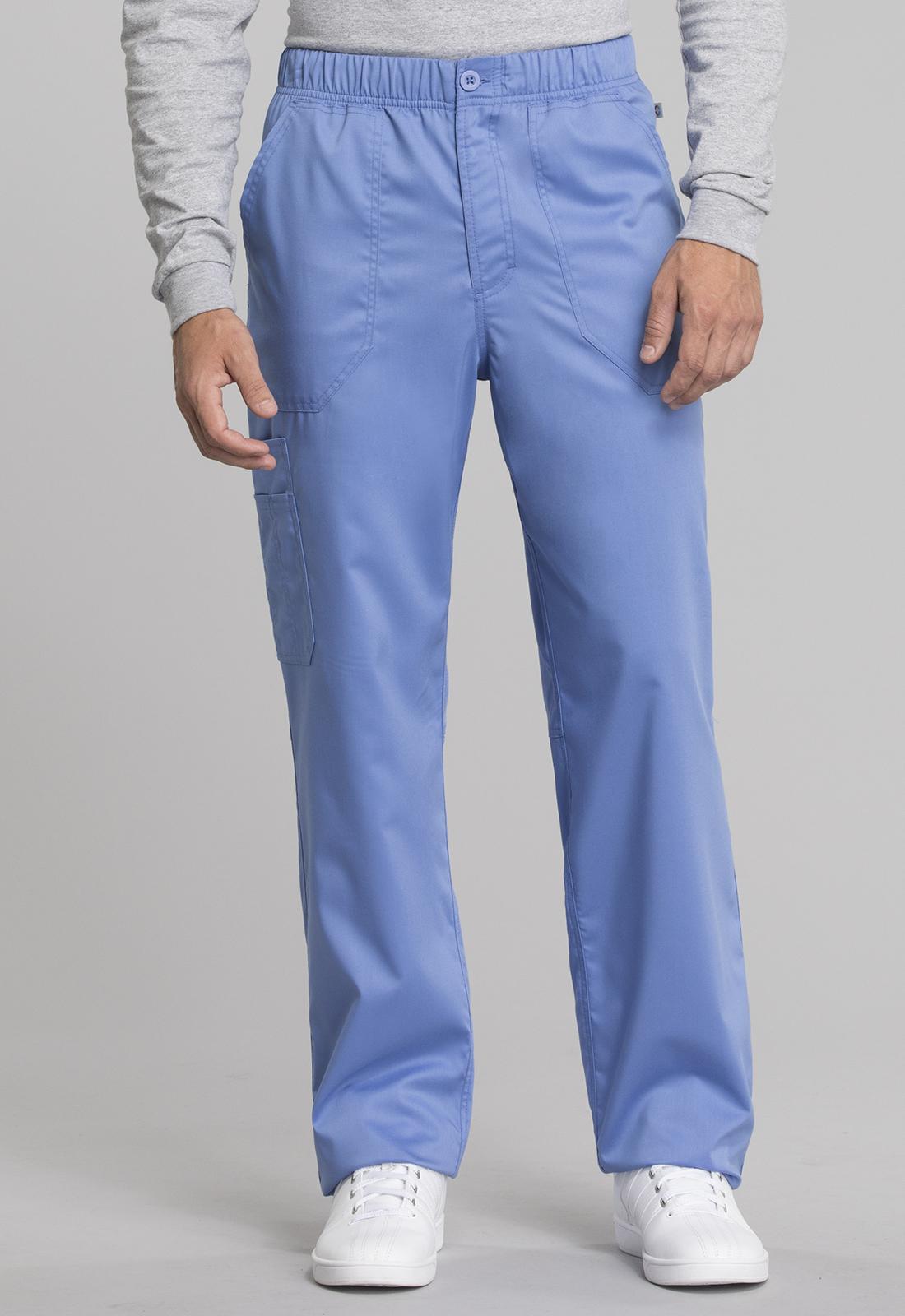 Men's Mid Rise Straight Leg Zip Fly Pant