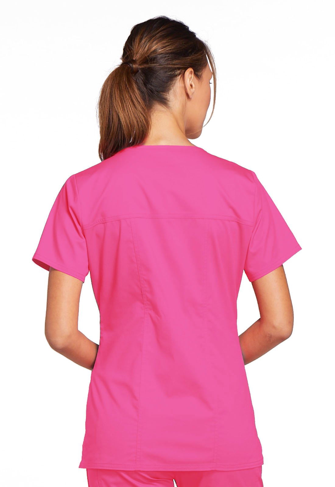 Cherokee Workwear Core Stretch Women/'s 4727 V-Neck Scrub Top