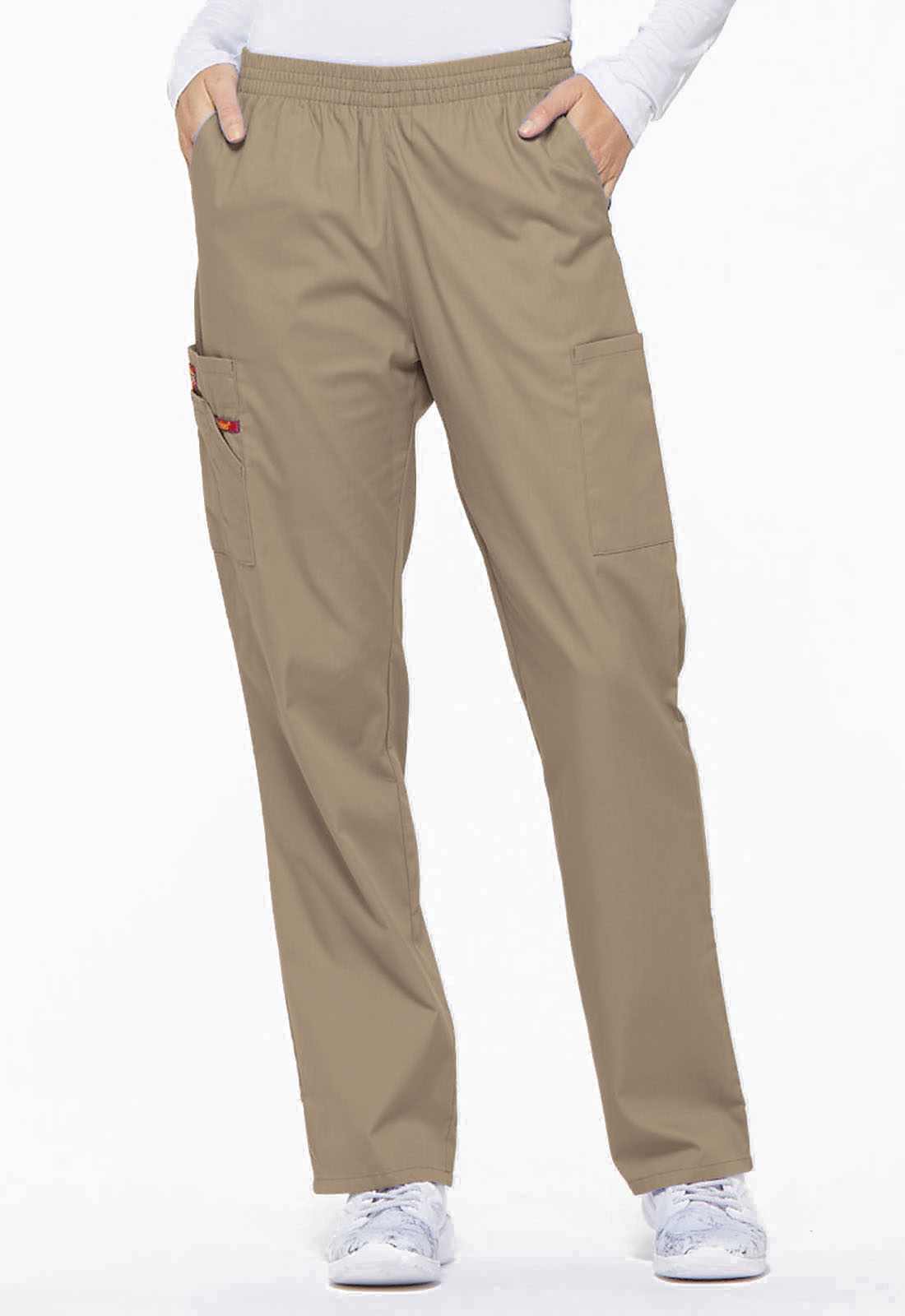 68aee610ce Dickies Women's Natural Rise Tapered Leg Pull-On Pant - 86106 FREE ...