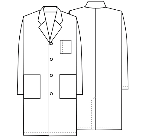 lab coat coloring pages - photo #15