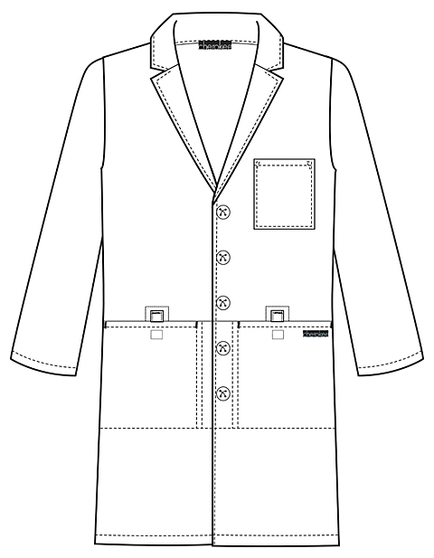lab coat coloring pages - photo #20