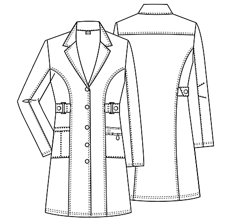 lab coat coloring pages - photo #7