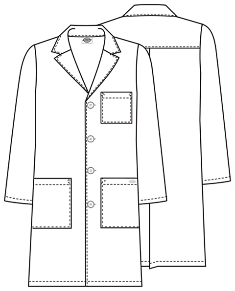 lab coat coloring pages - photo #4